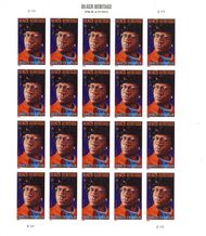 4856i Forever Shirley Chisholm Imperf Sheet of 20 4856ish