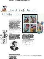#3912-15 37c Art of Disney 2005 USPS #739 Commemorative Stamp Panel CP739