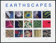 4710i (45c) Earthscapes Sheet of 15 Imperforate 4710imp