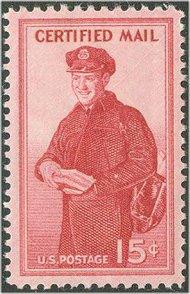 FA1 15c Happy Mailman F-VF Mint NH f1nh