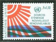 UNG 102 1.10 fr. Energy Conference UN Geneva Mint NH ung102