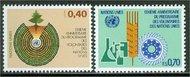 UNG 103-4 40c-70c Volunteers UN Geneva Mint NH ung103