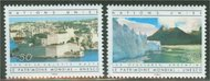 UNG 124-25  50c-70c UNESCO UN Geneva Mint NH 12468
