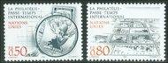 UNG 146-47  50c-80c Philately UN Geneva Mint NH ung146