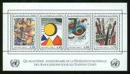 UNG 150   35c,45c,50c,70cWFUNA S/S UN Geneva Mint NH ung150