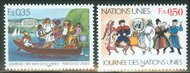 UNG 158-59  35c-50c U.N. Day UN Geneva Mint NH ung158