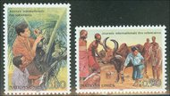 UNG 167-68  80c-90c Intl. Volun. Day UN Geneva Mint NH ung167