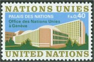 UNG 22    40c Palace of Nations 12389