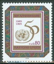 UNG 262 80c U.N. 50th Anniversary UN Geneva Mint NH ung262