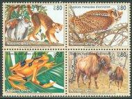 UNG 264-7 80c Endangered Species sheet of 16 UN Geneva Mint NH ung264sh