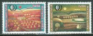 UNG 268-9   80c-1fr Int. Youth Year UN Geneva Mint NH ung268