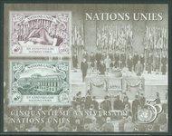 UNG 272 60c 1.8fr U.N. 50th S/S UN Geneva Mint NH ung272
