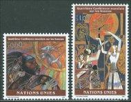 UNG 273-4 60c-1 fr Women's Conference UN Geneva Mint NH ung273