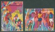 UNG 289-90 70c, 1.10 Fr. Sports NH MI Blocks ung289mi