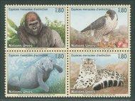 UNG 298-301  80c Endangered Species 12574