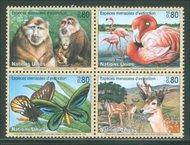 UNG 318-21  80c Endangered Species ung318
