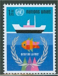 UNG 45    1.30 fr. Law of the Sea 12406