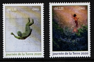 UNG 685-86  1 fr, 2 fr Mother Earth Day Set of 2 Mint Singles ung685-6_sgls
