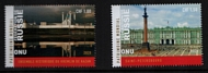 UNG 688-89 1 fr,1.50 fr World Heritage Russia Set of 2 Mint Singles ung688-89_sgls