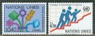 UNG  96-97 40c-70c Econ. Social Council. UN Geneva Mint NH ung96