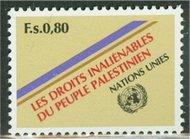 UNG  98 80c Palestinian People UN Geneva Mint NH ung98