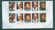 4922-26i (49c) Celebrity Chefs Imperf Plate Block of 10 4226imppb