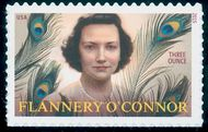 5003 (93c) Flannery O'Connor Mint Single 5003nh