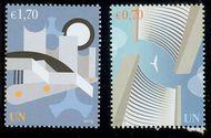 UNV 544-45 .70, 1.70e Definitives Mint NH unv544-5nh
