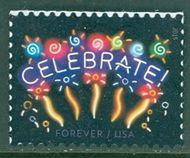 5019 Neon Celebrate, Reprint Dated 2015 Mint Single 5019nh