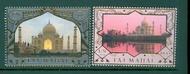 UNNY 1090-91 49c $1.15 Heritage India Inscription Block of 4 ny1090-91ib