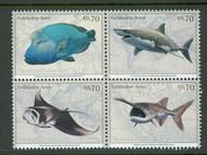 UNV 553-56 .70e Endangered Species Block of 4 Mint NH v553-6blk