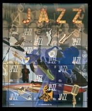 UNNY 1087 49c International Jazz Day Souvenir Sheet 1087ss