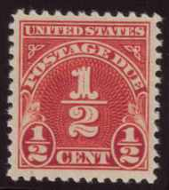 J 69 1/2c Carmine 1930 Postage Due F-VF Unused j69og