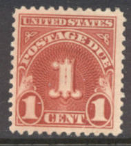 J 70 1c Carmine 1930 Postage Due F-VF Unused j70og
