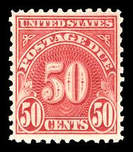J 76 50c Carmine 1930 Postage Due F-VF Mint NH j76nh