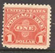 J 77 $1 Carmine 1930 Postage Due AVG-F Mint NH j77nhavg