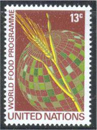 UNNY 218 13c World Food Program UN Mint NH Single unny218