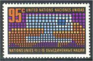 UNNY 226 95c Letter UN Mint Single unny226