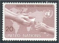 UNNY 396 20c World Food Program F-VF NH 12185