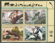 UNNY 789-92  34c Endangered Species sheet of 16* Mint NH ny789sh