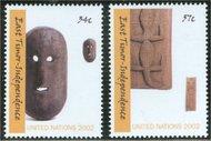 UNNY 822-3  34c, 57c East Timor ny822