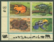 UNNY 908-11 39c Endangered Species sheet of 16 ny908sh
