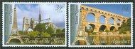 UNNY 915-6 39c,84c UNESCO France ny915