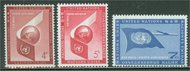 UNNY C 5-7 4c,5c,7c Airmails UN New York Mint NH nyc5