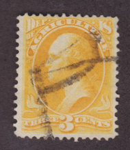 O  3 3c Agriculture Official Stamp F-VF Used o3used