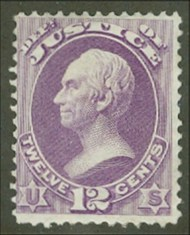 O 30 12c Justice Official Stamp AVG-F Unused No Gum o30ngavg