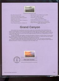 C135     60c Grand Canyon USPS Souvenir Page 00-03