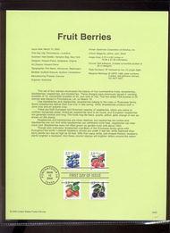 3294a-7a   33c Fruit Berries USPS Souvenir Page 00-05