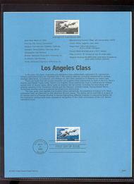 3372     33c Los Angeles Class Submarine USPS Souvenir Page 00-06