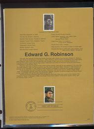 3446     33c Edward G. Robinson USPS Souvenir Page 00-25
